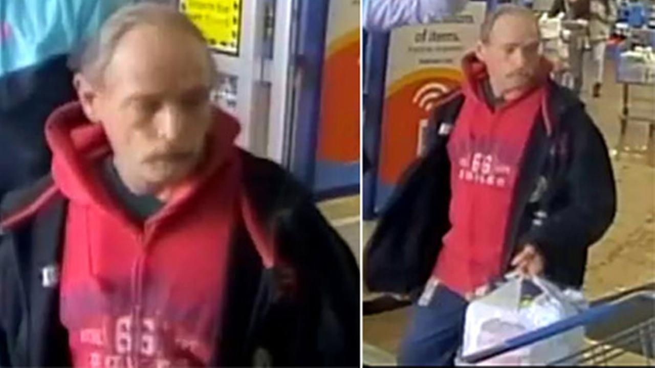 NJ State Police search for Walmart shoplifting suspect