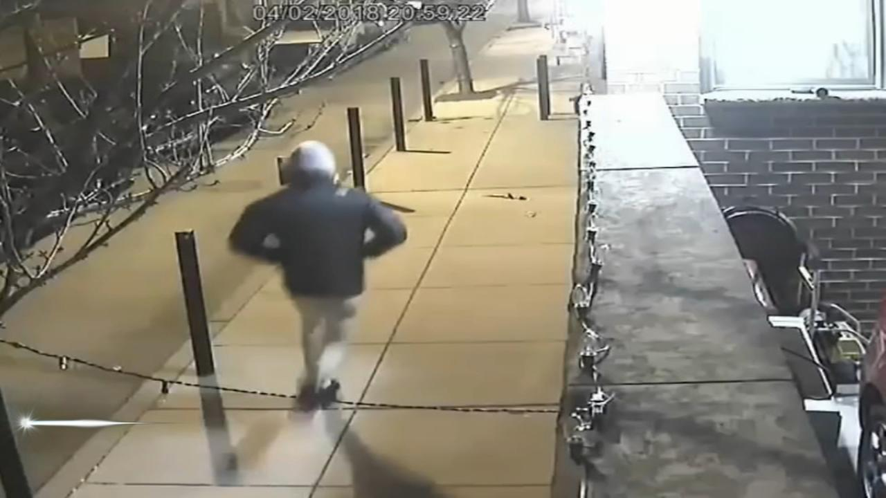 Shooting suspect caught on camera