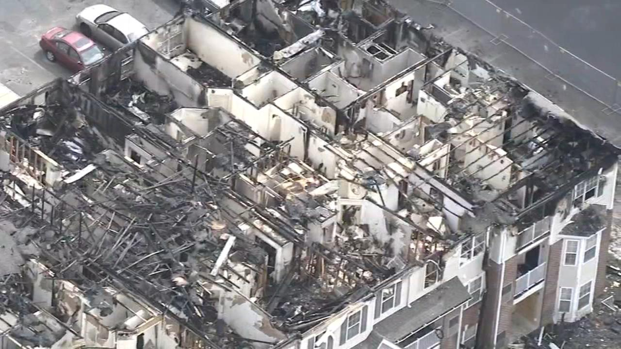 Residents seek answers after apartment building fire