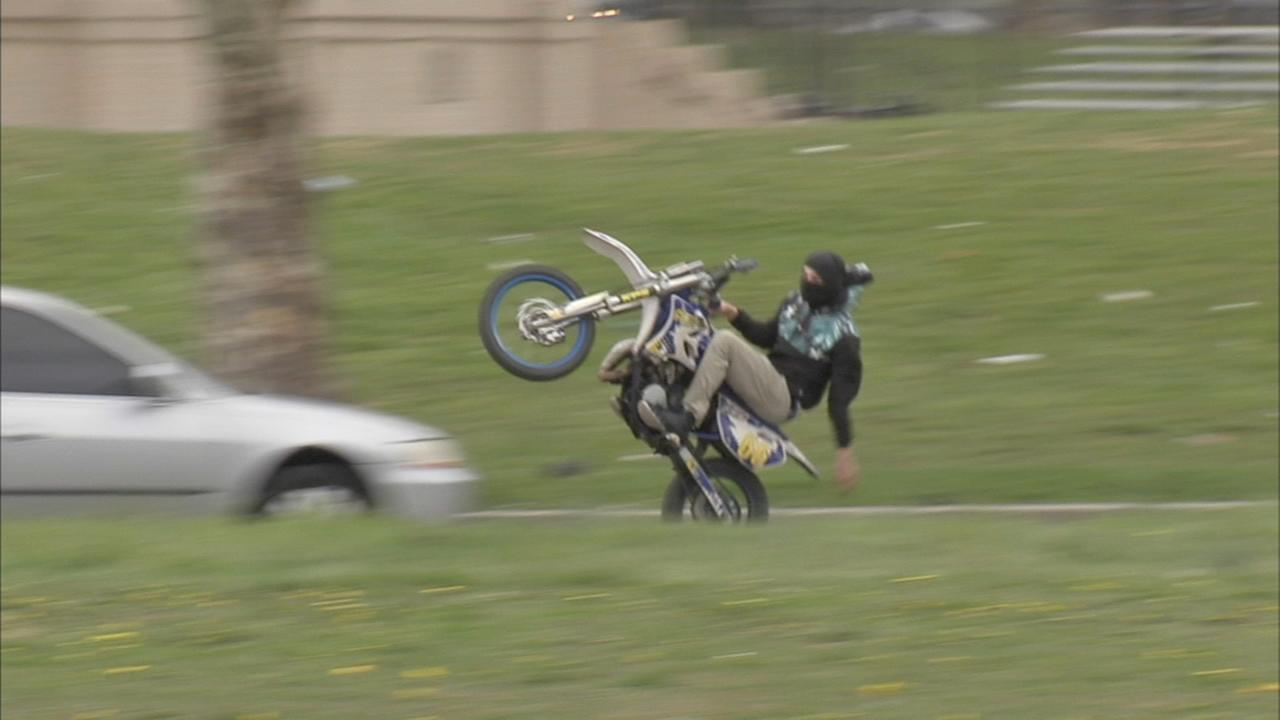 Police crackdown on illegal dirt bike ATV use