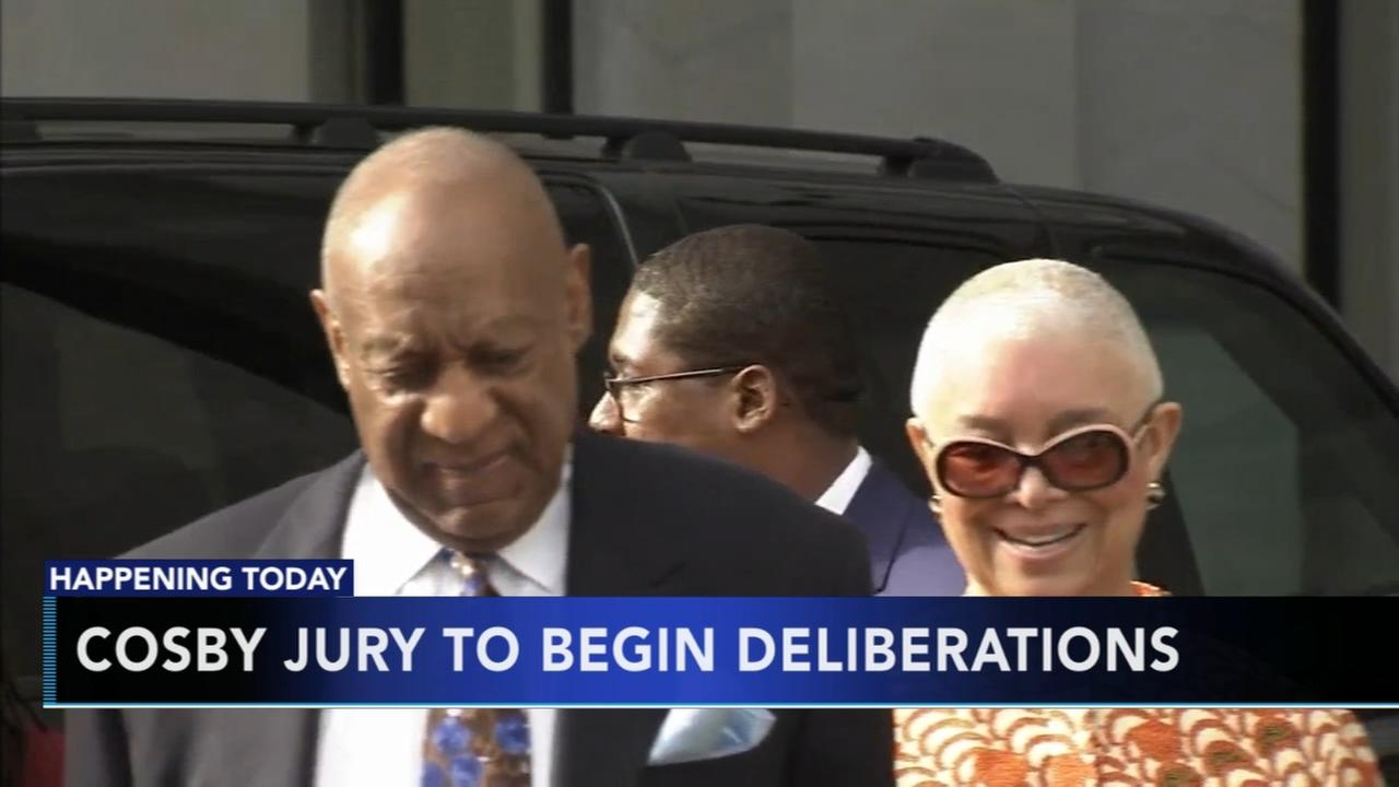 Cosby jury to begin deliberations