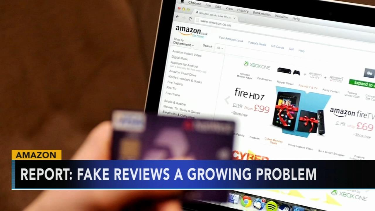 Report: Fake reviews on Amazon a growing problem