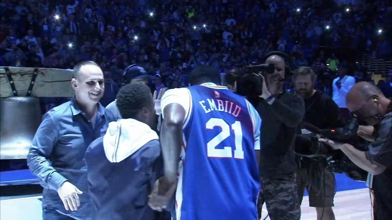 Sixers fans react to series win against Miami