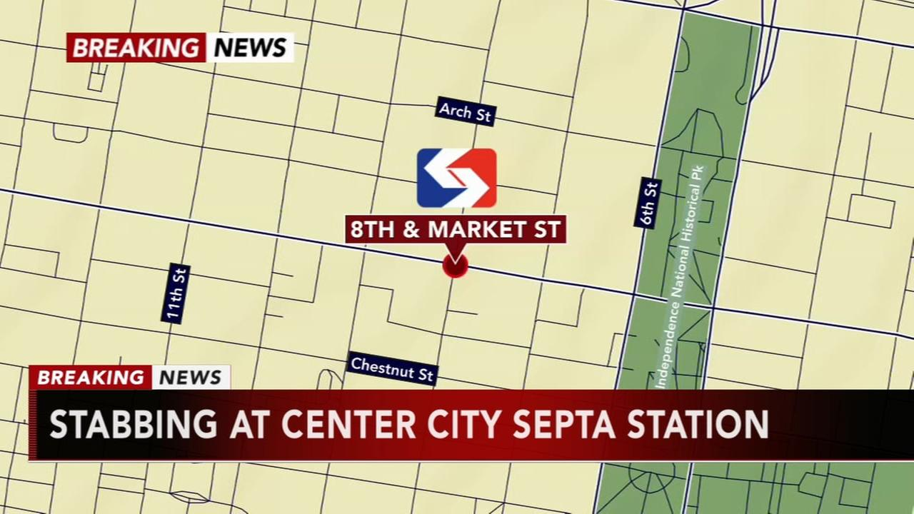 SEPTA 2 stabbed at 8th Street Station