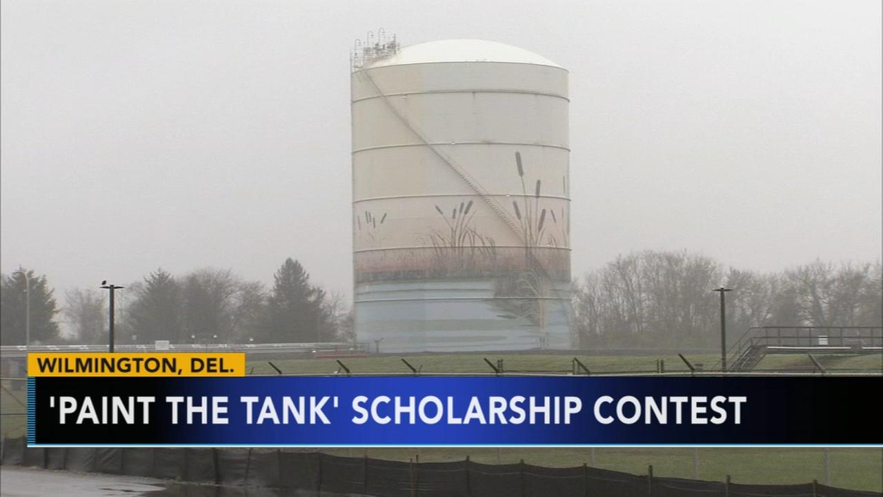 Paint the Tank scholarship contest
