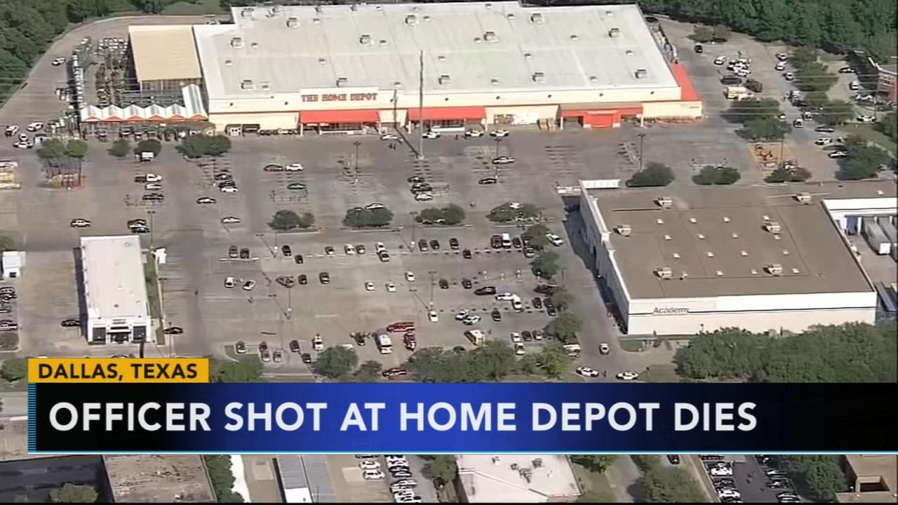 Dallas mayor: 1 officer has died after Home Depot shooting