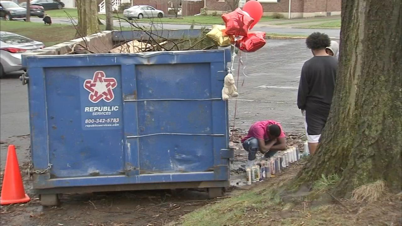 Police ID burning body found in dumpster