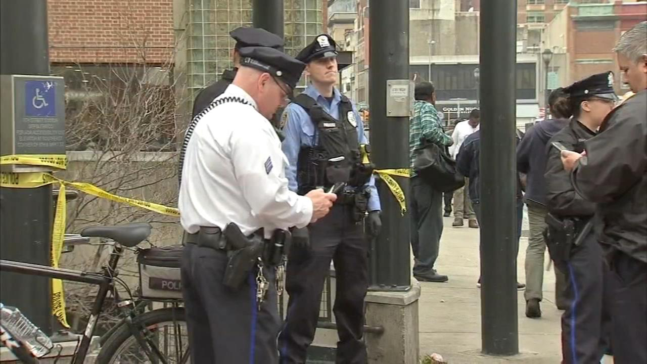 Double stabbing at SEPTA station two teens critical