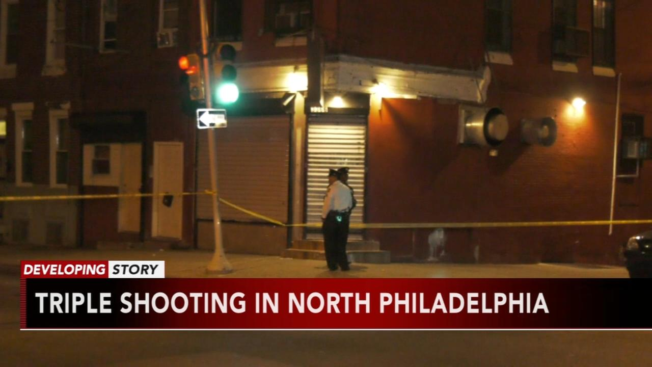 Triple shooting in North Philadelphia