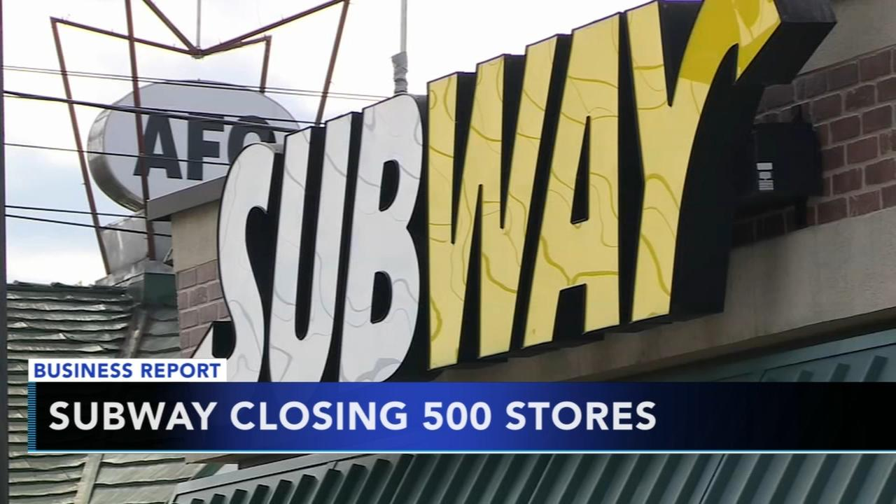 Subway closing 500 stores