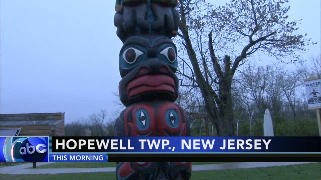 Totem pole exhibit on display in Mercer County