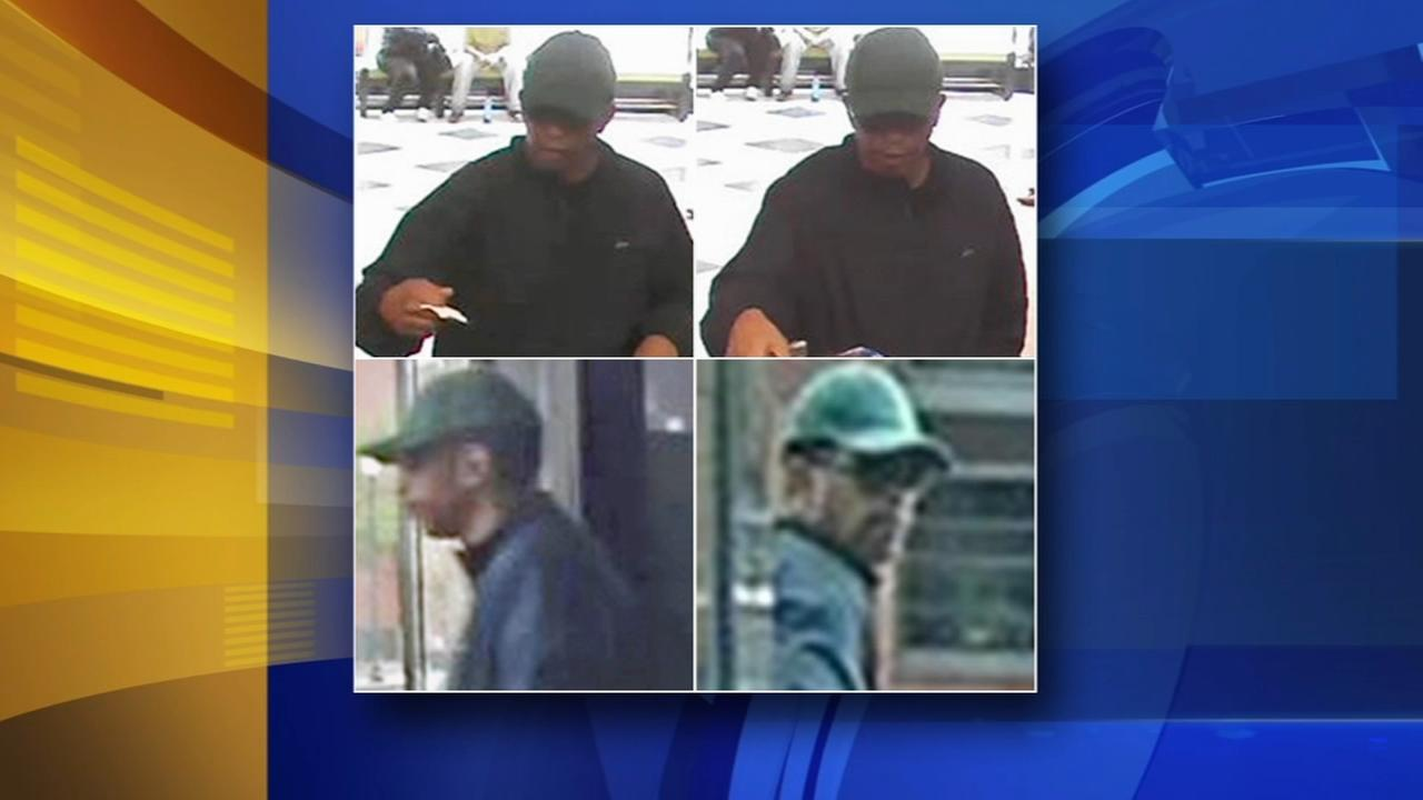 Police: Suspect sought for robbing TD Bank in University City