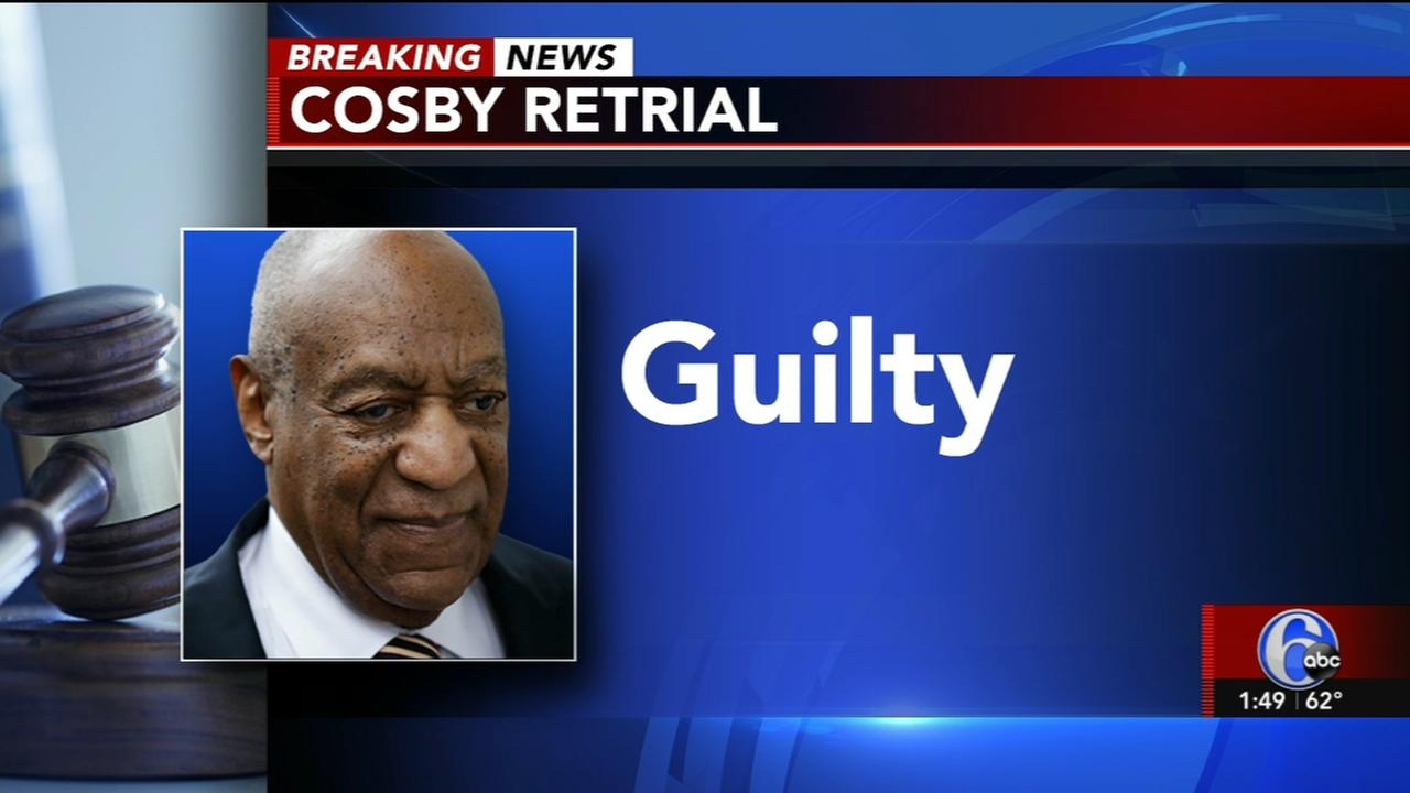 Jury finds Cosby guilty on all counts