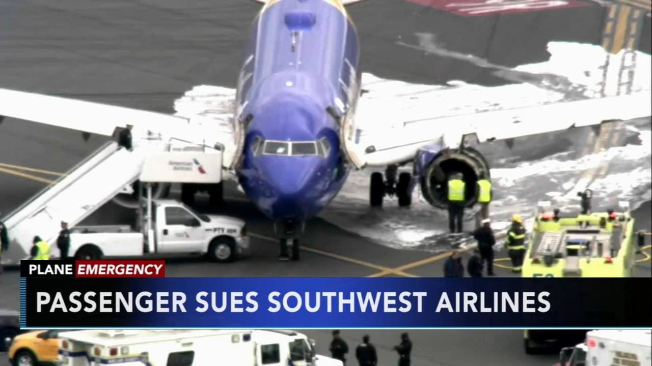Passenger sues Southwest Airlines