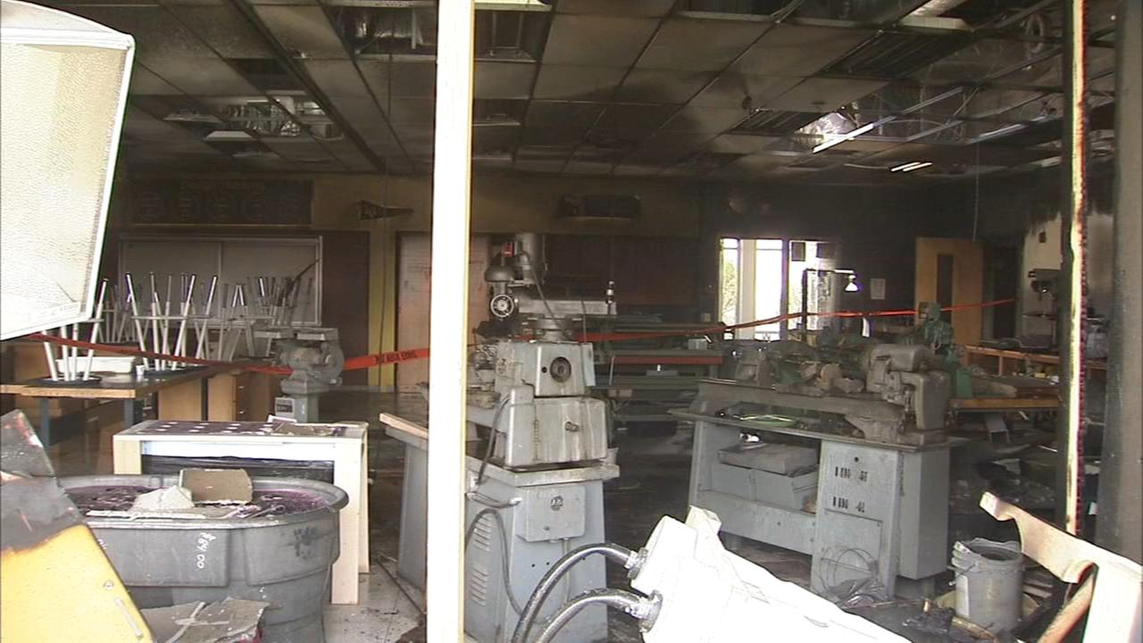 Fire at Upper Perk HS ruled accidental; school closed Monday