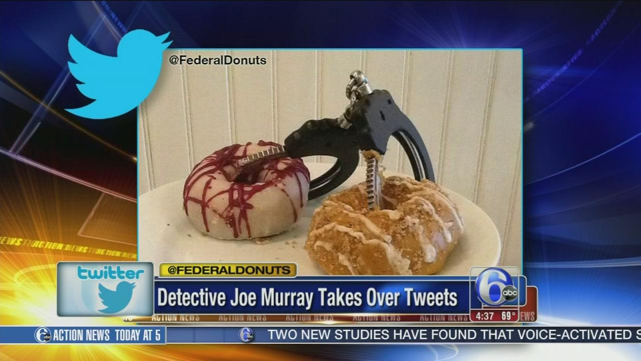 VIDEO: Philly cop takes donut shops Twitter into custody