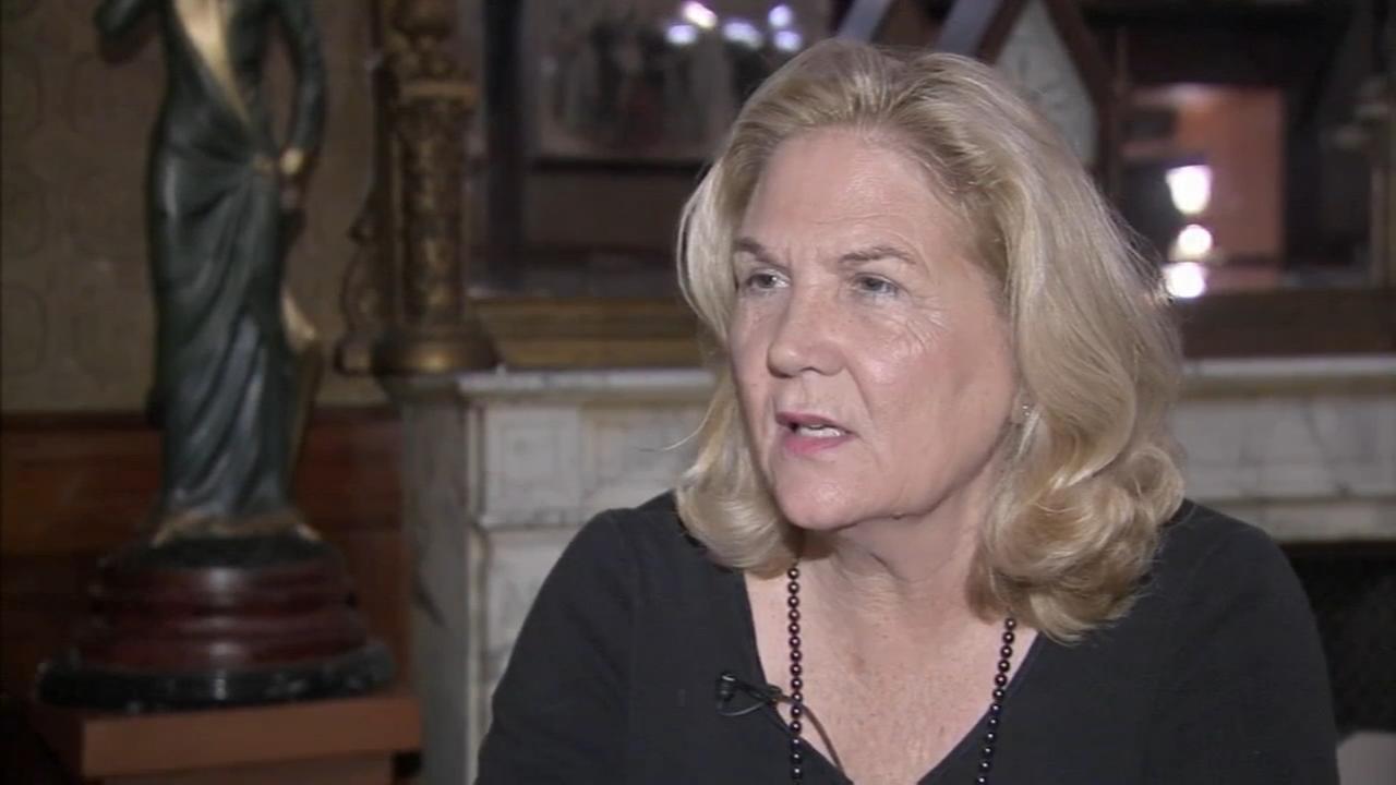 Widow of slain Philadelphia officer speaks before hearing