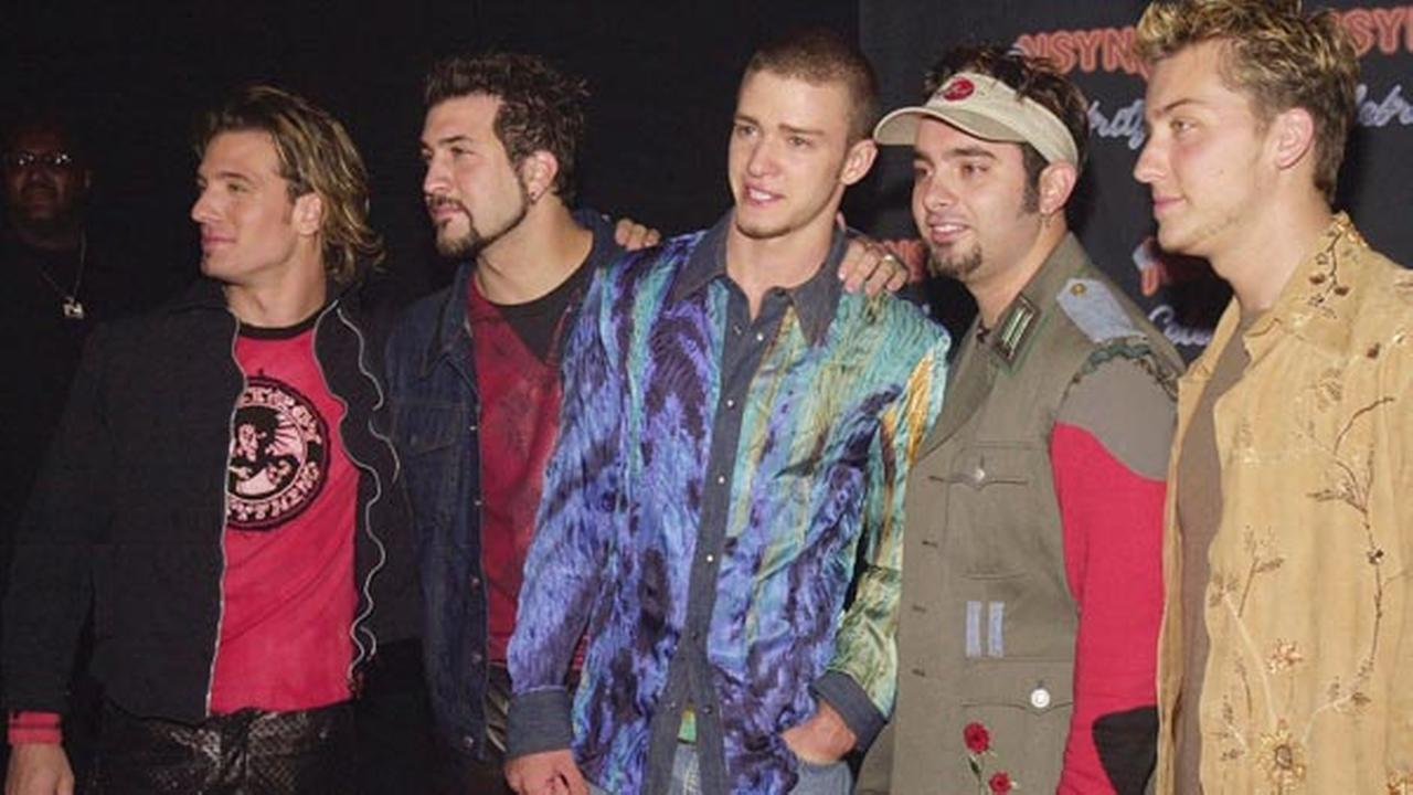 'NSYNC reunites to receive a star on the Hollywood Walk of Fame