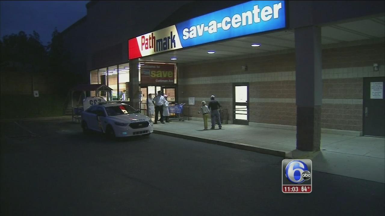VIDEO: Supermarket stabbing