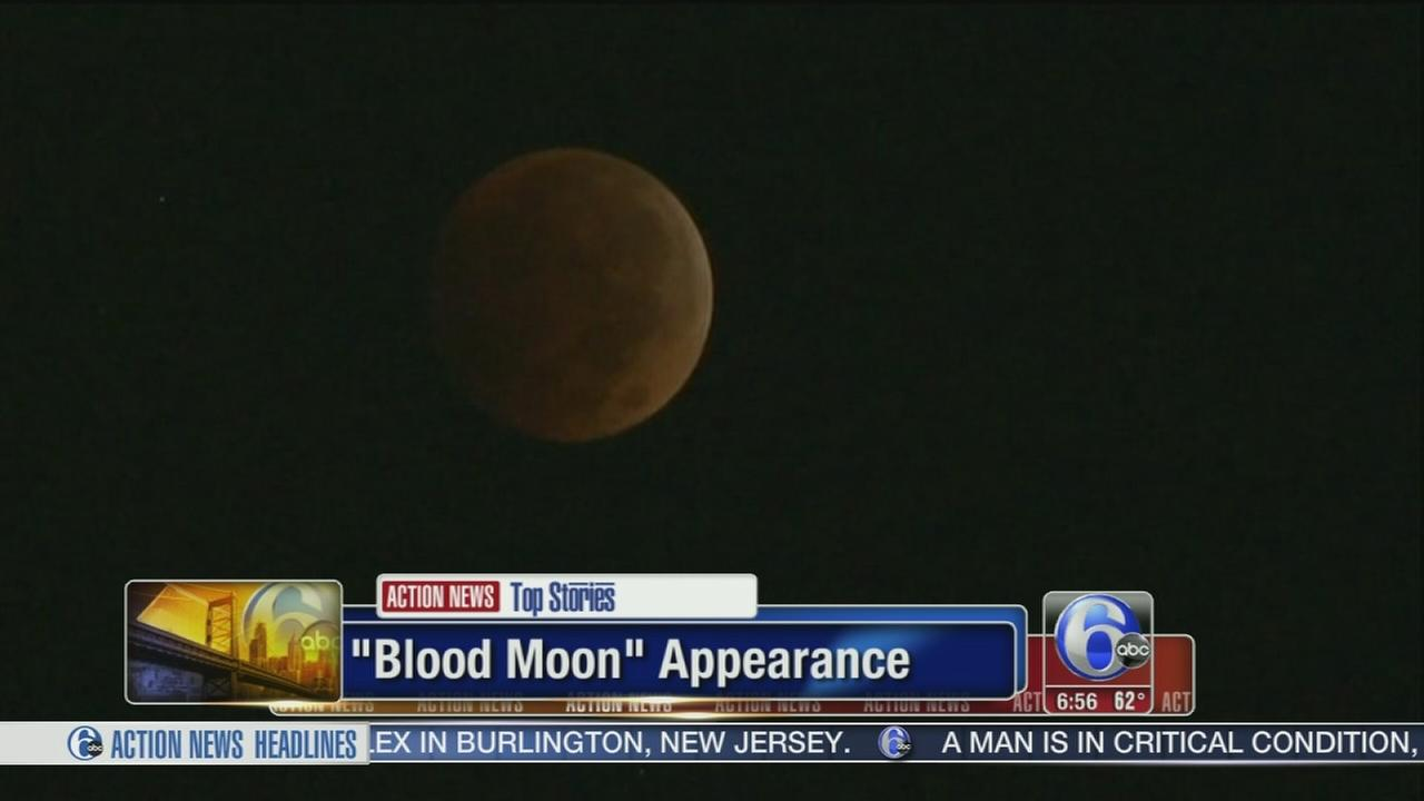 VIDEO: Blood Moon appearance