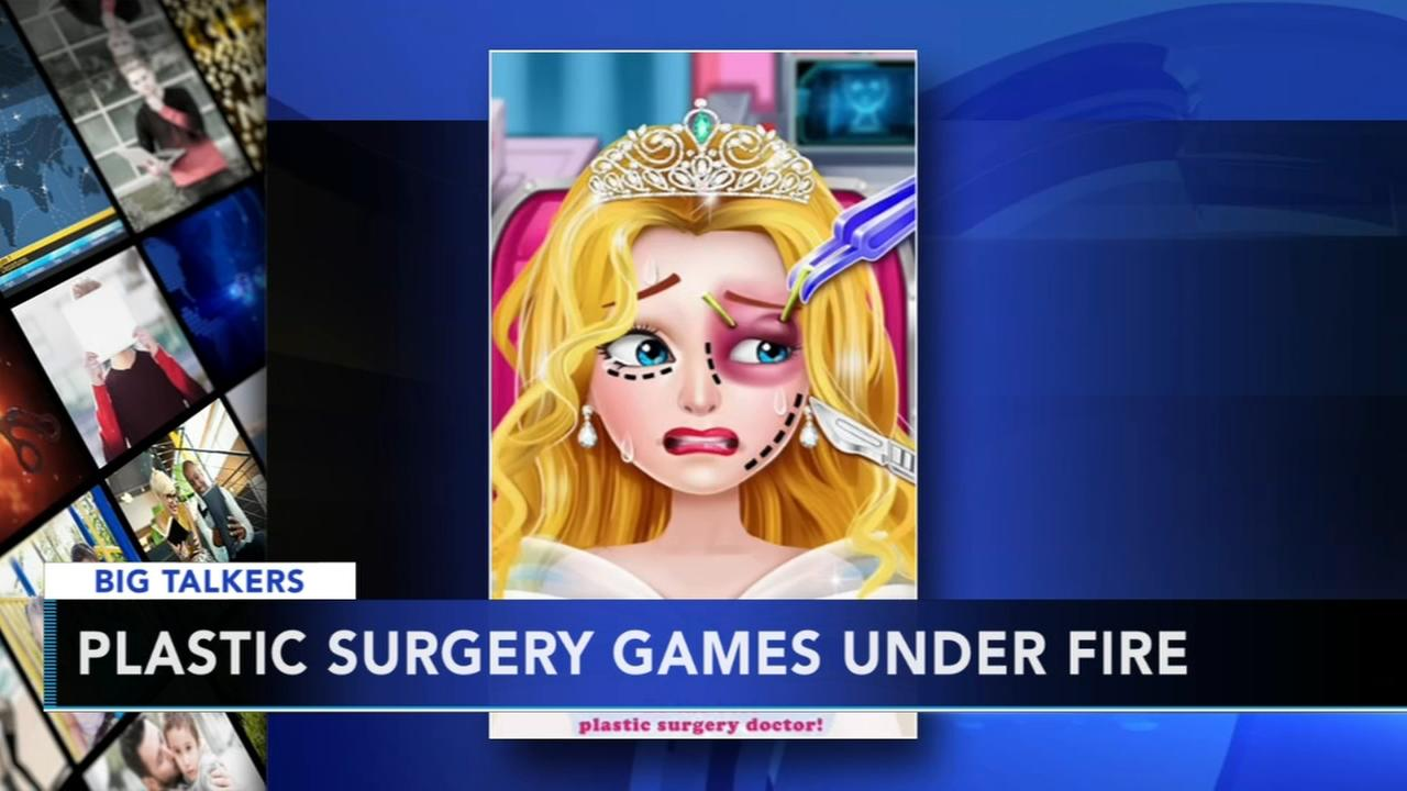 Plastic surgery games under fire
