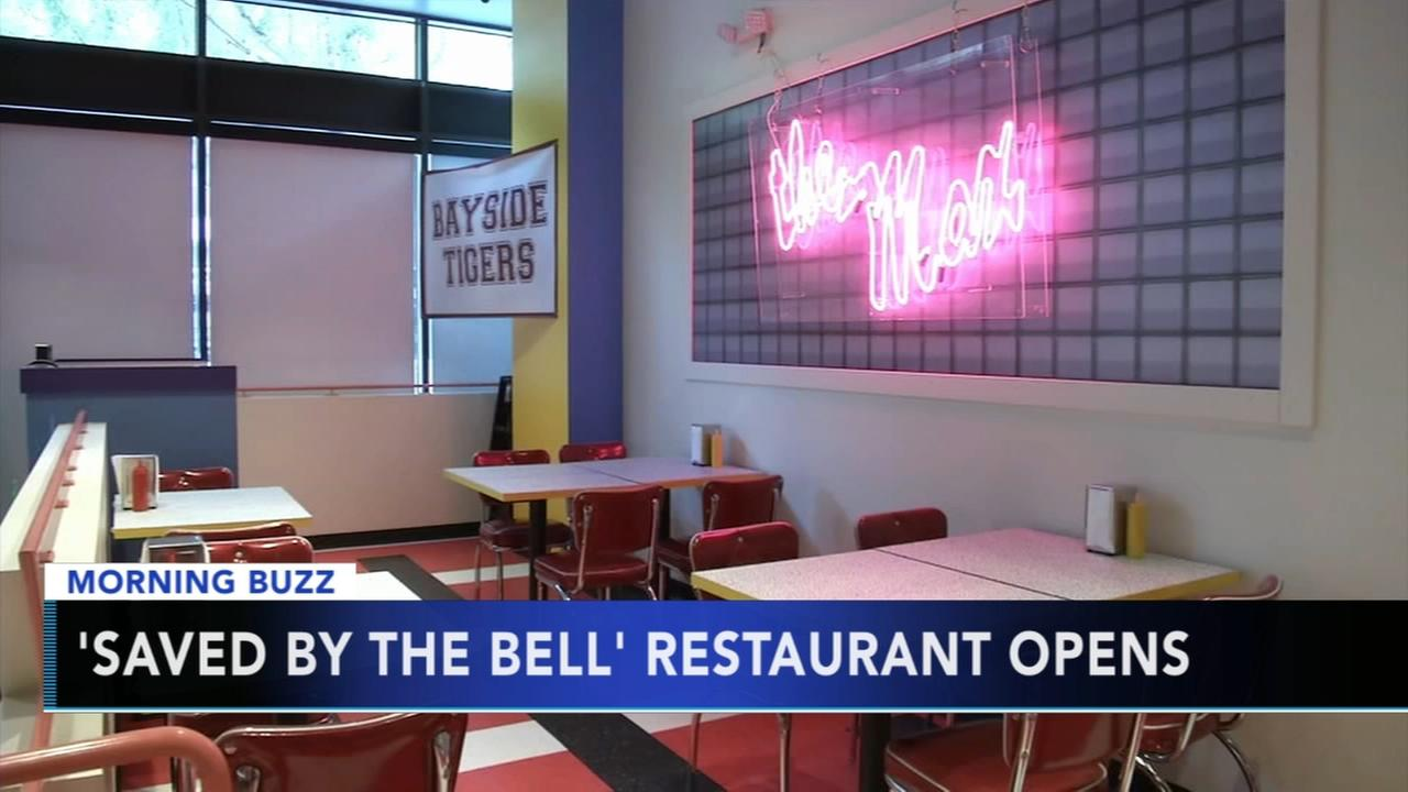 Saved By The Bell restaurant opens