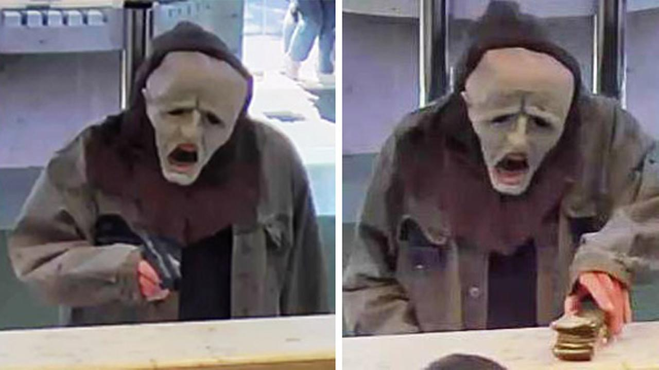 Armed Man With Halloween Mask Robs Hatboro Bank 6abc Com