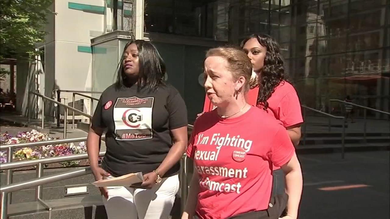 Fmr. Comcast workers deliver sex harassment complaints