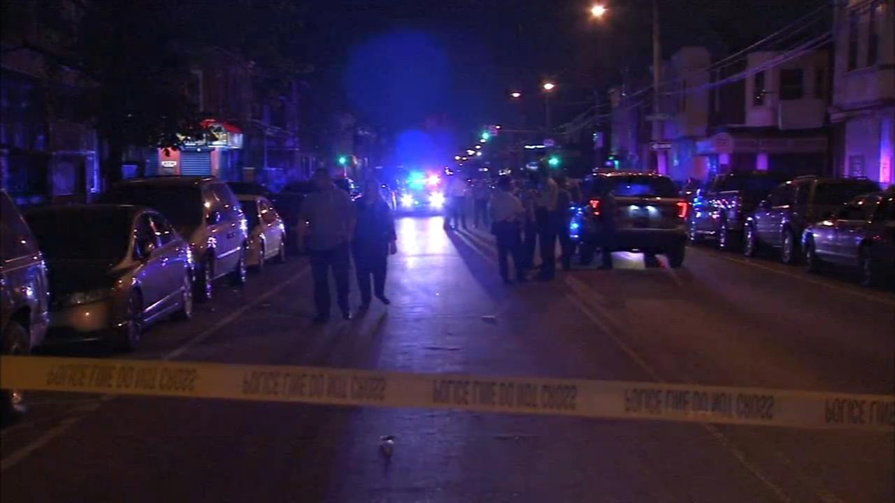 5 shot in violent night in Philadelphia