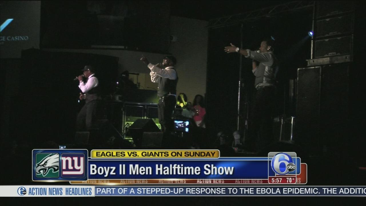 VIDEO: Boyz II Men halftime show