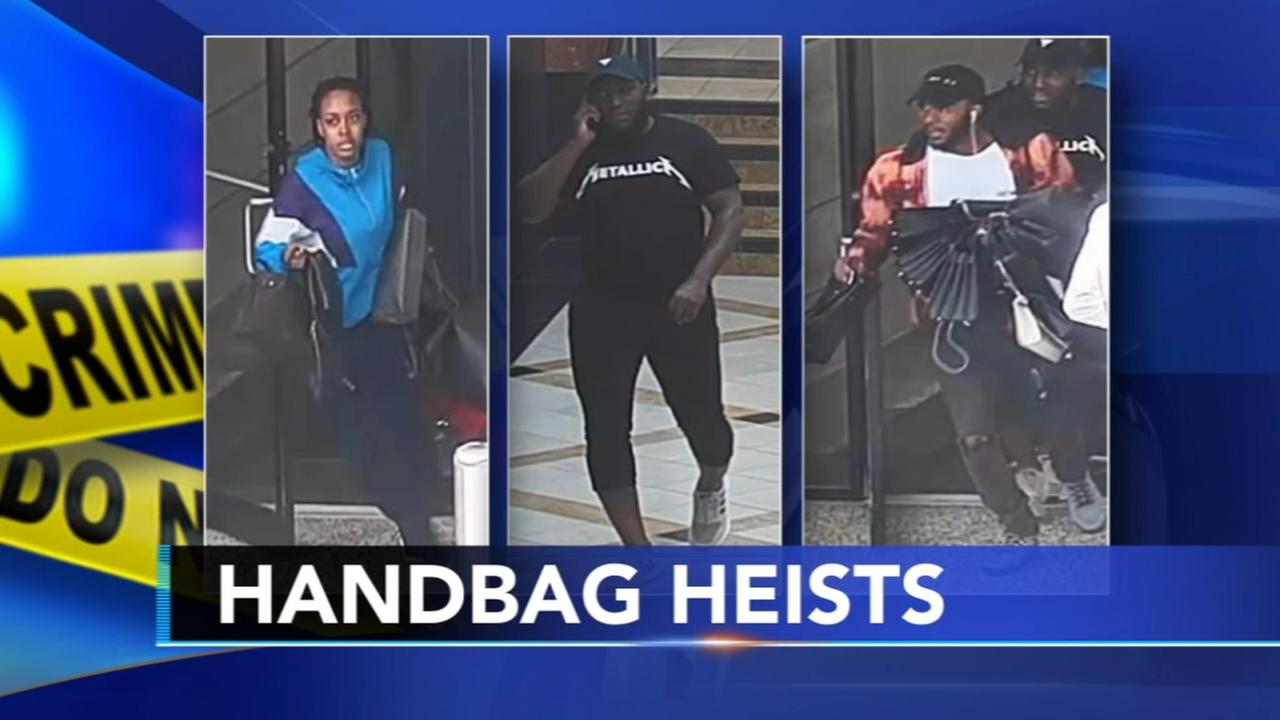 Bags worth $112,000 stolen from KoP Mall, suspects sought