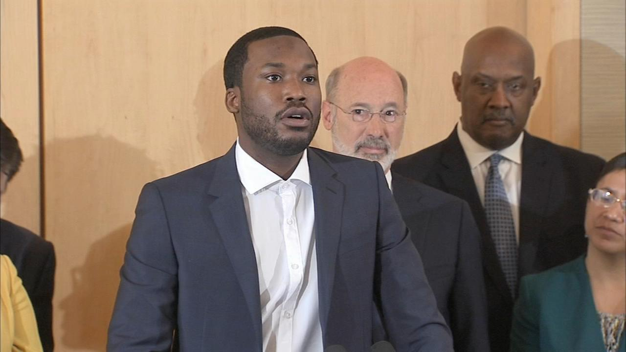 Meek Mill pushing for criminal-justice reform in Pennsylvania