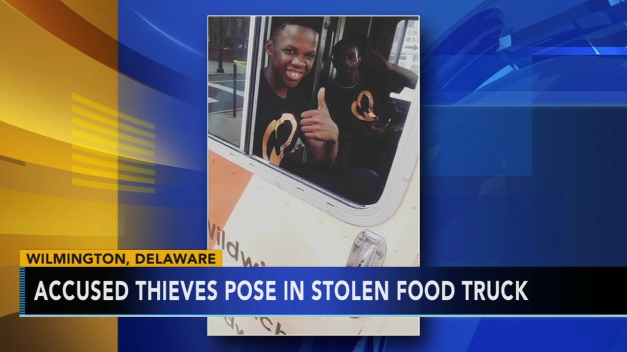 Bold thieves take, then return, Wilmington food truck