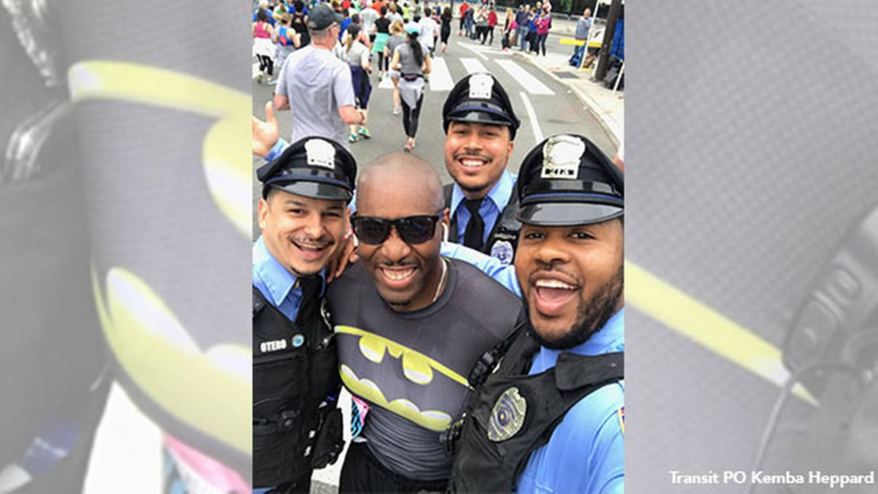 SEPTA officer who survived hit-and-run completes Broad Street Run