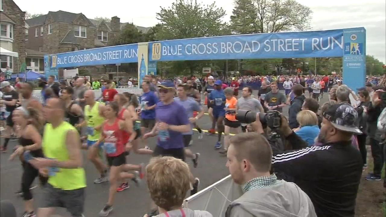 Thousands take part in Broad Street Run
