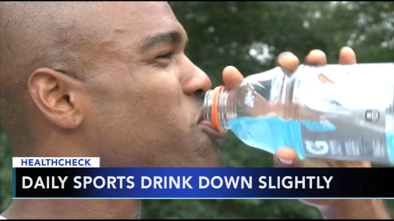 Survey: Teens drinking sports drinks less frequently