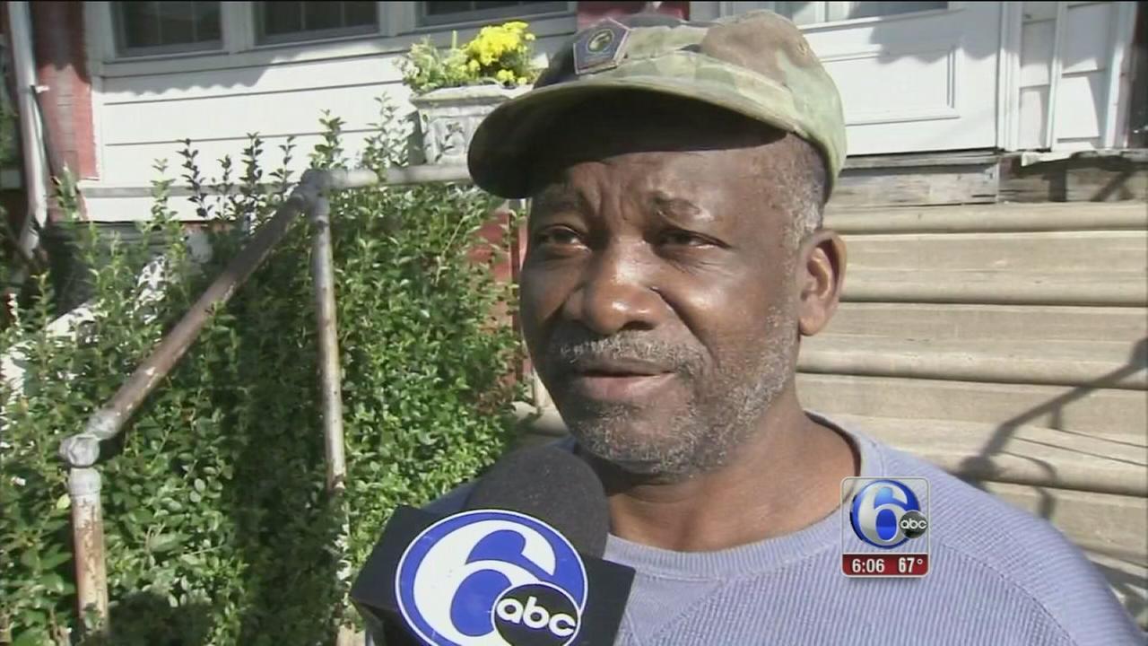 VIDEO: SW Phila. man stabs neighbor in bed, threatens children
