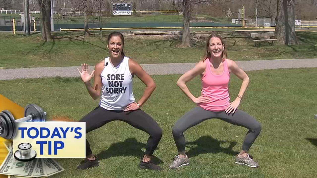 Shoshanas lower body challenge! - Todays Tip