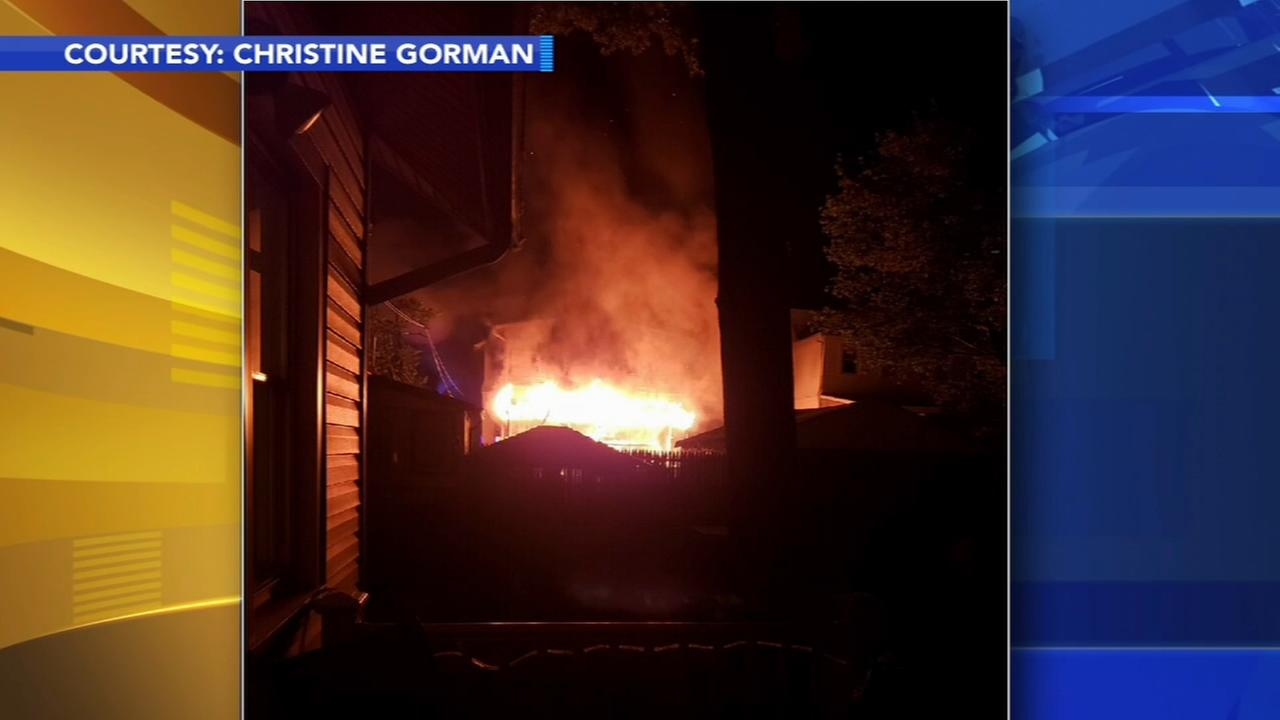 2 women rescued from Collingswood fire