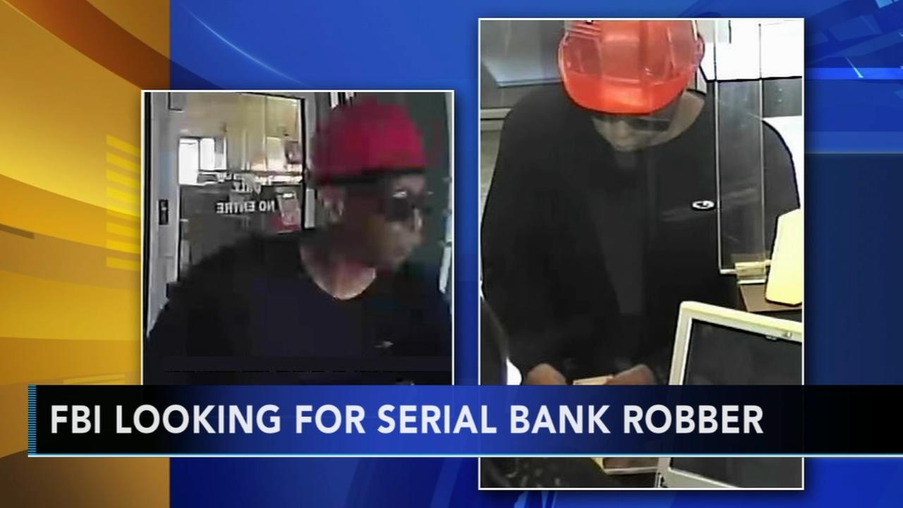 FBI seeking serial bank robber