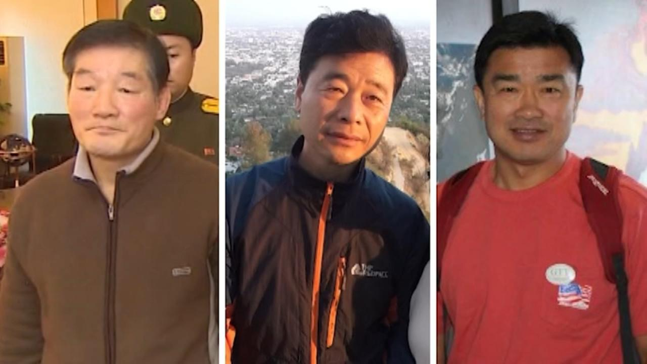 Detainees freed in North Korea, returning to US with Pompeo