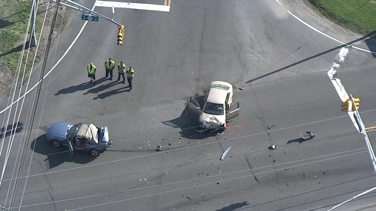 2 hurt in Route 70 crash