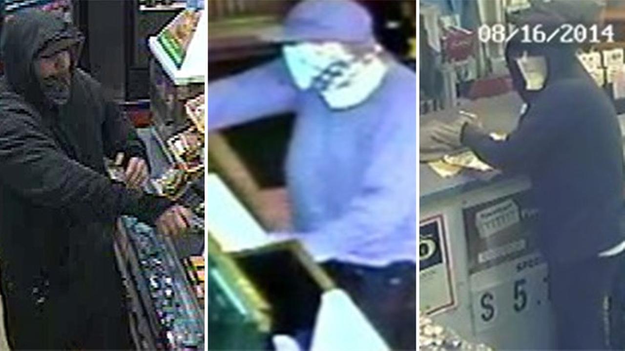 Man wanted for 14 robberies in Northeast Philadelphia