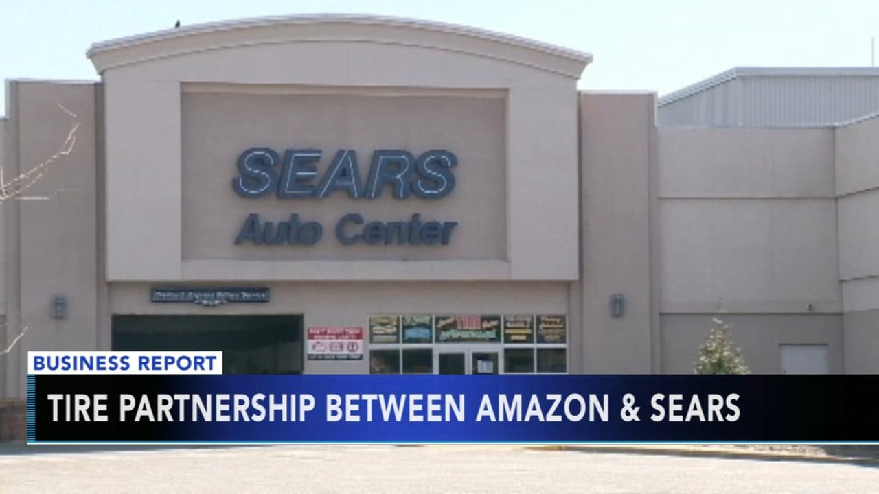 Amazon and Sears make tire installation deal