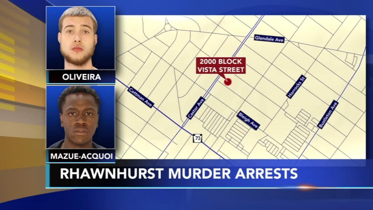 Police: 2 men arrested for Rhawnhurst murder