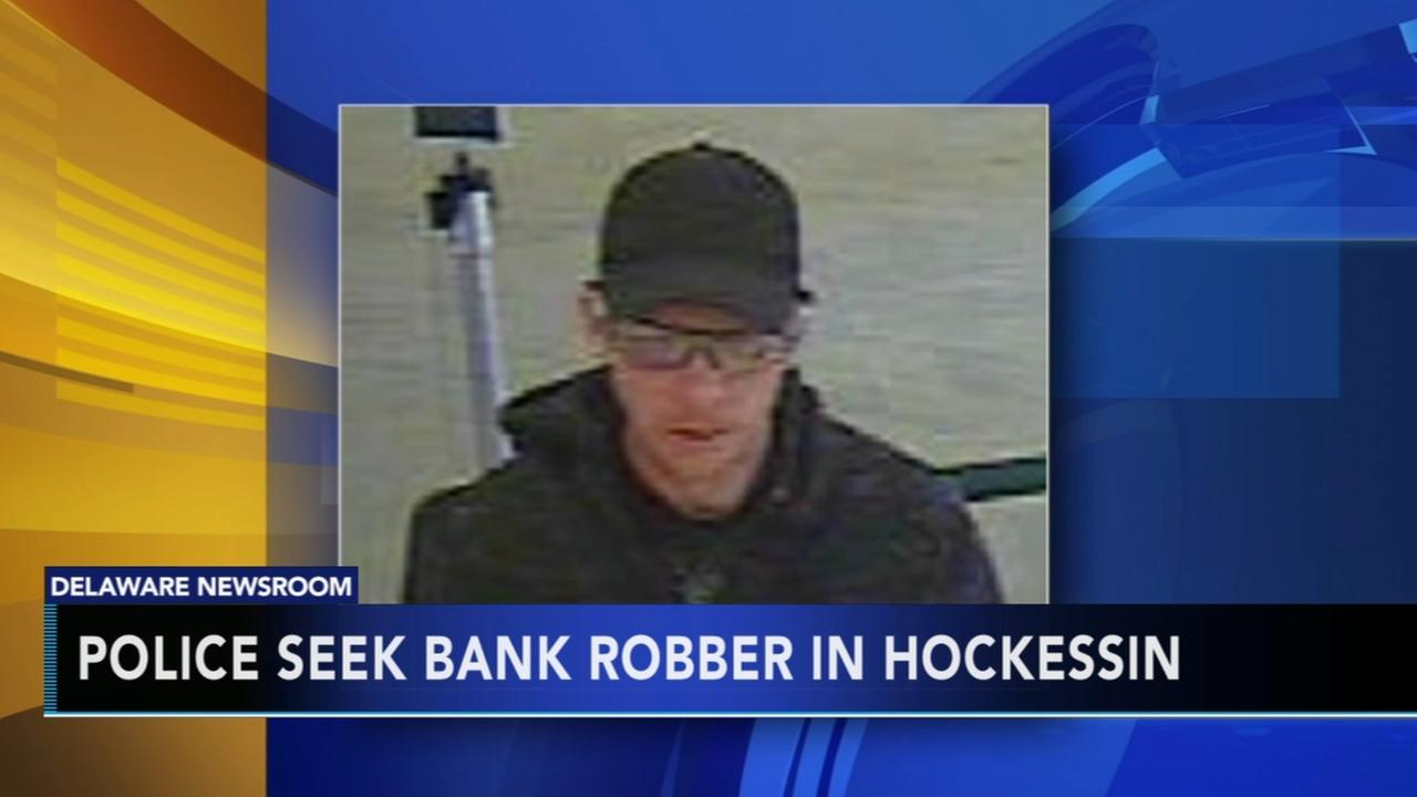 Police seek bank robber in Hockessin