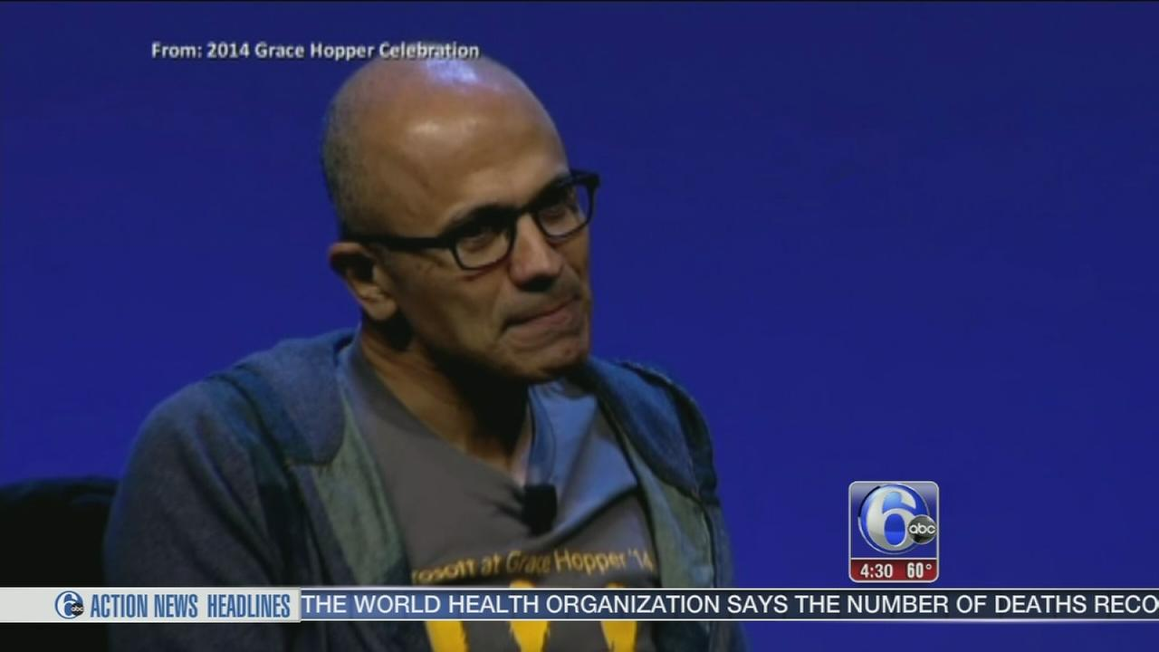 VIDEO: Microsoft CEO apologizes for comments on women