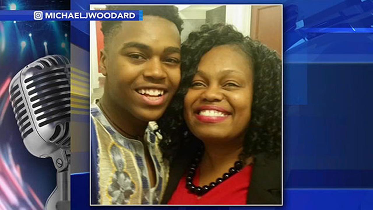 Michael J. Woodard and mom, Wanda Woodard