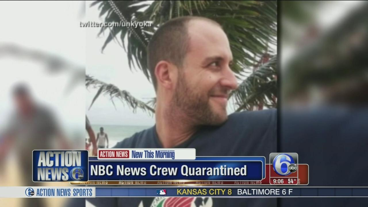 VIDEO: New Jersey enforces isolation order for NBC crew