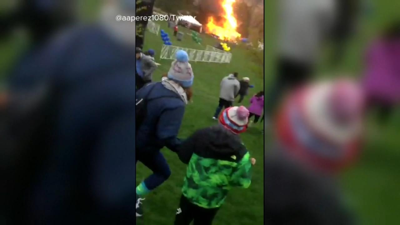 1 hurt in propane tank explosion at Chicagos Soldier Field